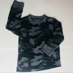 Long sleeve army fatigue boys shirt size 2t